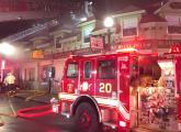 Adams Street fire